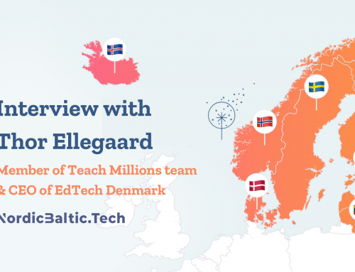 Interview with Thor Ellegaard, Member of Teach Millions team and CEO of EdTech-Denmark