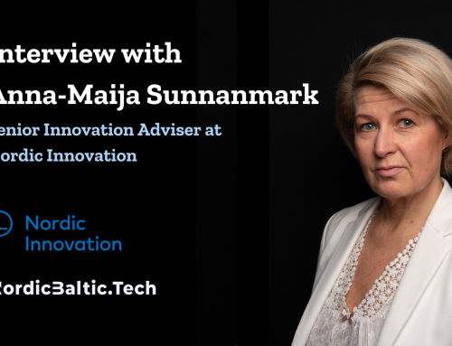 Interview with Anna-Maija Sunnanmark, Senior Innovation Adviser at Nordic Innovation