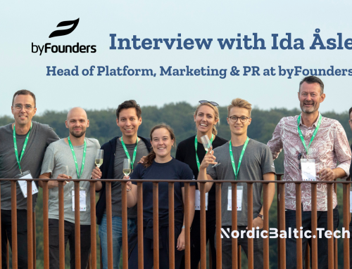Interview with Ida Åsle, Head of Platform at VC byFounders